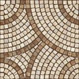 Textura do mosaico. Imagens de Stock Royalty Free