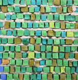 Textura do mosaico foto de stock