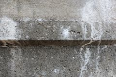 Textura do muro de cimento Fundo foto Cor escura Fotografia de Stock Royalty Free