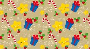 Textura do Natal Fotos de Stock