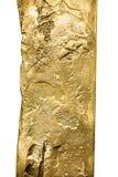 Textura do ouro fotografia de stock