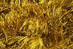 Textura do ouro Fotos de Stock Royalty Free