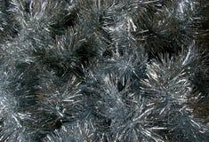 Textura do ouropel do Natal Imagem de Stock