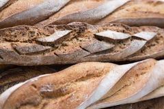Textura do pão francês Foto de Stock