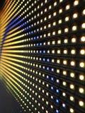 Textura do painel da tela do diodo emissor de luz do RGB Foto de Stock