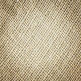 Textura do pano de saco Imagens de Stock