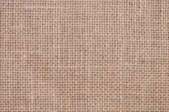 Textura do pano de saco Foto de Stock Royalty Free