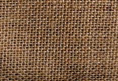 Textura do pano de saco Imagem de Stock