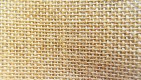 Textura do pano de saco para o fundo Foto de Stock Royalty Free
