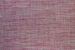 A textura do pano para o fim da mesa de jantar acima Fotografia de Stock