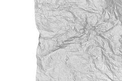 Textura do papel amarrotado Imagem de Stock