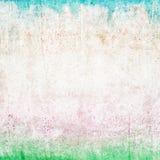Textura do papel colorido, resistido e envelhecido Fotografia de Stock
