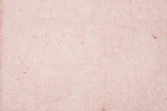 Textura do papel cor-de-rosa da fibra natural, papel velho Imagem de Stock Royalty Free