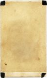 Textura do papel da foto do vintage Fotos de Stock Royalty Free