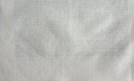 A textura do papel de jornal velho fotografia de stock