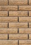 Textura do papel de parede da parede de pedra do tijolo claro imagens de stock