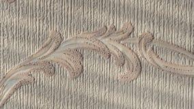 Textura do papel de parede em uma parede na casa Imagem de Stock