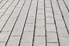 Textura do pavimento do bloco Imagens de Stock
