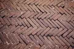 textura do pavimento do tijolo Imagem de Stock Royalty Free