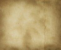 Textura do pergaminho com marca do vinco fotografia de stock royalty free