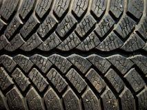 Textura do pneu fotos de stock