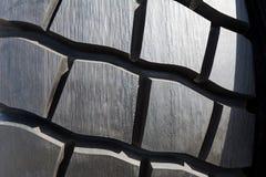 Textura do pneu do caminhão pesado foto de stock