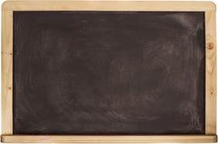 Textura do quadro do quadro-negro Preto vazio com Imagem de Stock Royalty Free