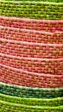 Textura do Raffia fotos de stock