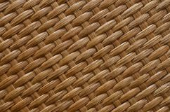 Textura do rattan de Brown imagem de stock