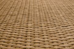 Textura do rattan de Brown fotos de stock royalty free