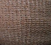 Textura do rattan do fundo Fotos de Stock Royalty Free