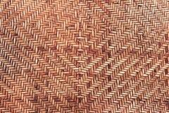 Textura do Rattan, superfície handcrafted natural para o uso do fundo Fotos de Stock Royalty Free