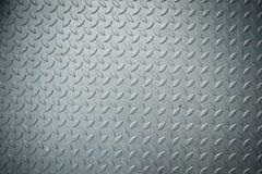 A textura do revestimento da placa do verificador, pavimenta a textura metálica, fundo imagens de stock royalty free