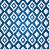 Textura do rhombus em um fundo azul Fotografia de Stock