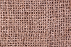 Textura do Sackcloth Imagem de Stock