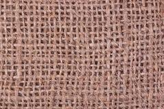 Textura do Sackcloth Imagem de Stock