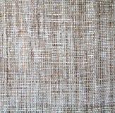 Textura do Sackcloth como o fundo Imagens de Stock Royalty Free