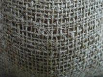 Textura do saco de serapilheira Imagens de Stock