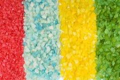 Textura do sal do mar Imagens de Stock Royalty Free