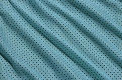 Textura do sportswear feita da fibra de poliéster O vestuário para a formação dos esportes tem uma textura da malha do fabri de n fotos de stock royalty free