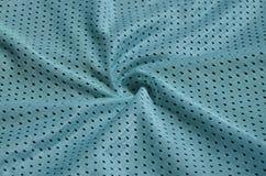 Textura do sportswear feita da fibra de poliéster O vestuário para a formação dos esportes tem uma textura da malha do fabri de n imagem de stock