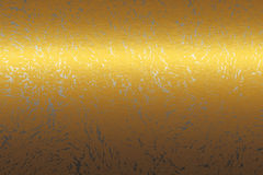 Textura do sumário do metal do ouro, fundo a projetar ilustração do vetor