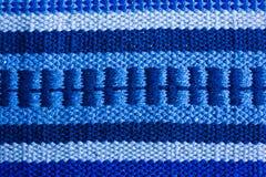 Textura do tapete azul Foto de Stock Royalty Free