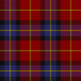 Textura do Tartan Foto de Stock Royalty Free