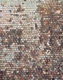 Textura do telhado da telha Fotografia de Stock Royalty Free