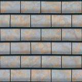 Textura do telhado gerada Teste padrão sem emenda Fotos de Stock