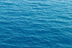 Textura do teste padrão da água de mar Foto de Stock Royalty Free