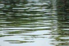 Textura 2 do teste padrão da água do lago Fotos de Stock Royalty Free