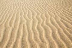 Textura do teste padrão da areia do deserto Imagens de Stock Royalty Free