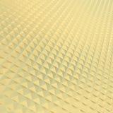 Textura do teste padrão da pirâmide do ouro foto de stock